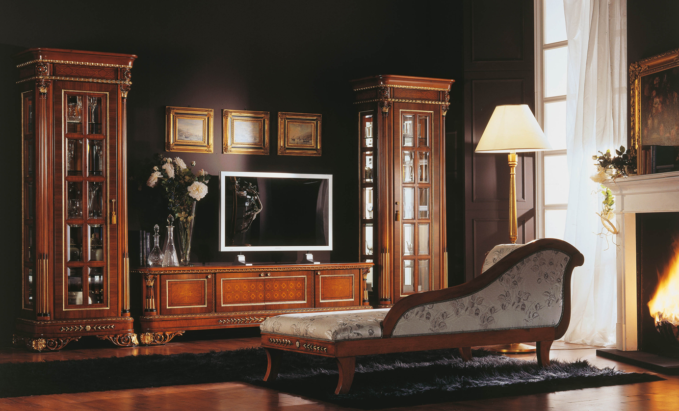 Michelangelo collezioni mobili classici di lusso cantaluppi mobili - Mobili tv classici ...